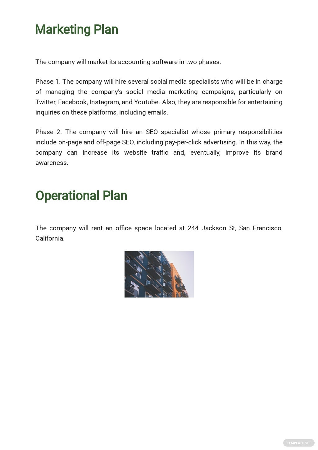 Free Sample Software Business Plan Template 4.jpe