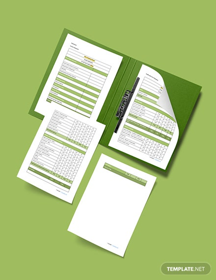 Printable Sample Software Business Plan Template