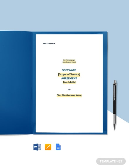 Joint Software Development Agreement Template
