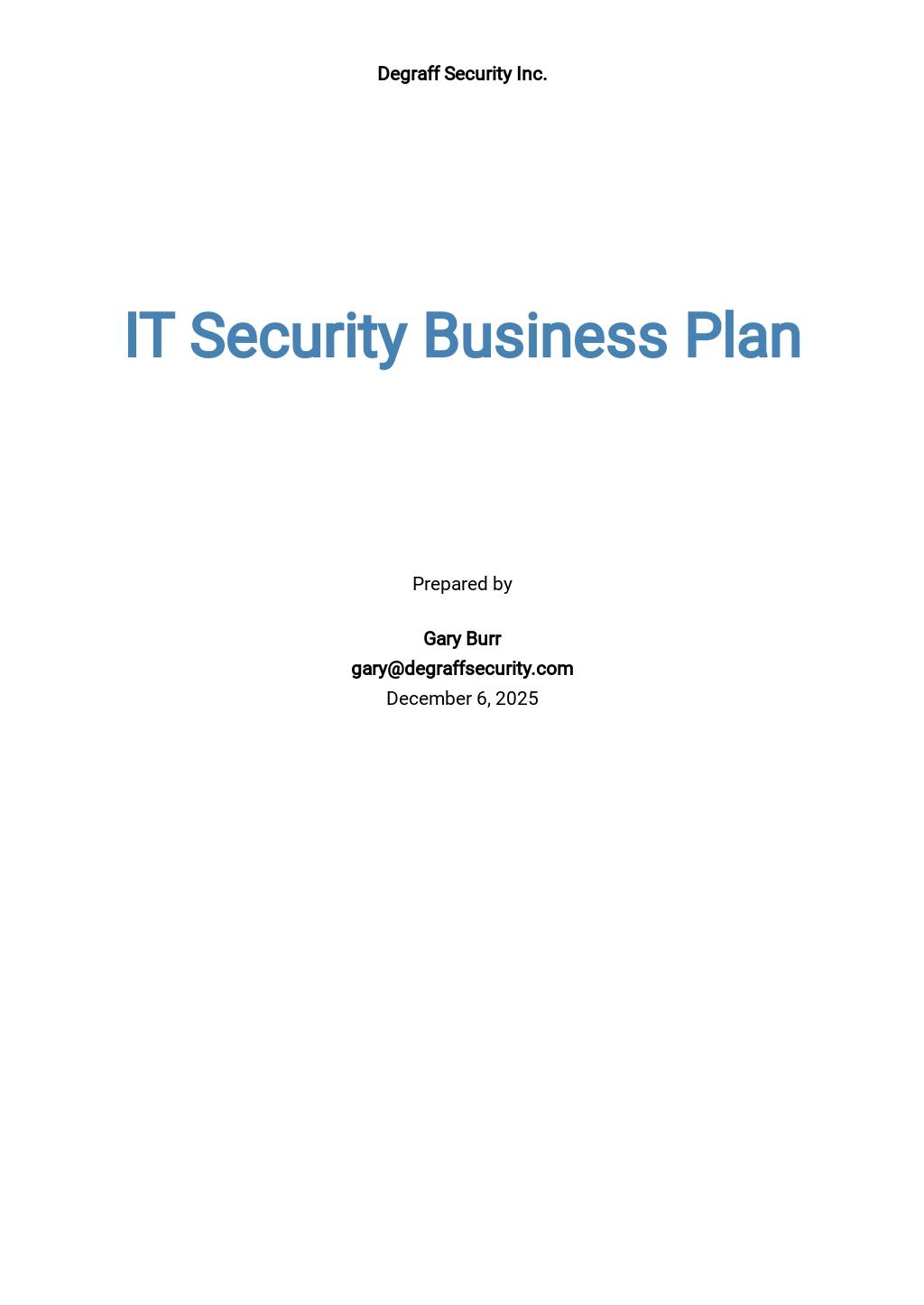 IT Security Business Plan Template.jpe