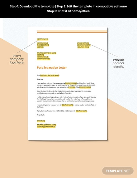 Short Acceptance of Resignation from an Employee Format