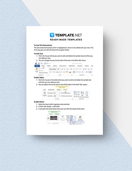 Sample Software Price Setting Worksheet