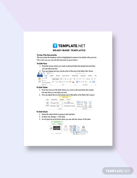 Yearly Expense Report Template format