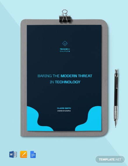 Technology White Paper Template