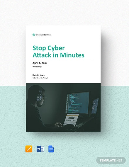 Cyber Security White Paper Template