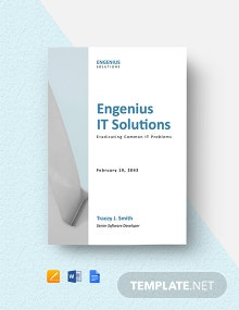 Business IT White Paper Template