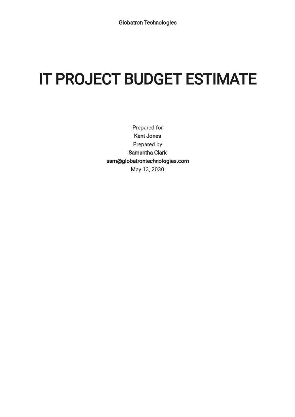 IT Project Budget Estimate Template.jpe