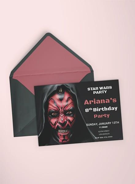 Star wars birthday invitation template download 344 invitations in star wars birthday invitation template filmwisefo