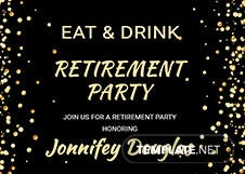 Surprise Retirement Party Invitation
