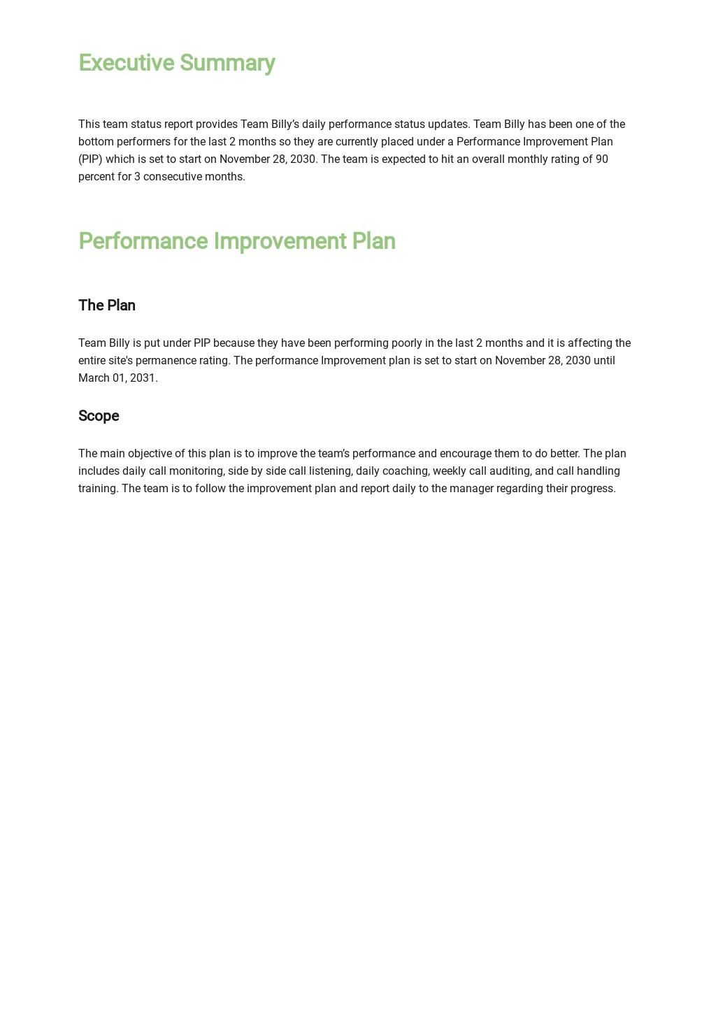 Team Status Report Dashboard Template 1.jpe