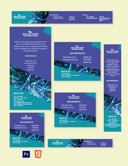 Software Development Banner Template