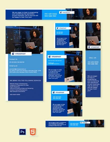 Tech Web Banner Template
