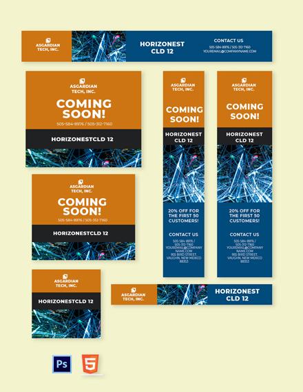 Cloud Technology Web Banner Template