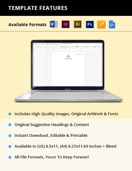 Free Sample Software Company Letterhead Instruction