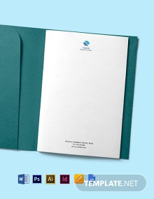 IT Startup Company Letterhead Template