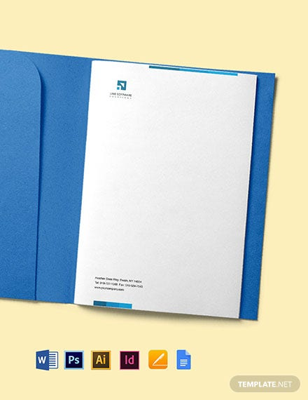 Software Solutions Letterhead Template