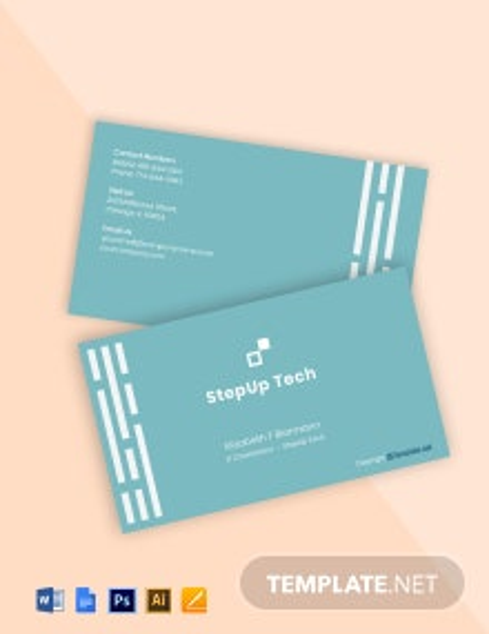 Minimal IT Business Card Template