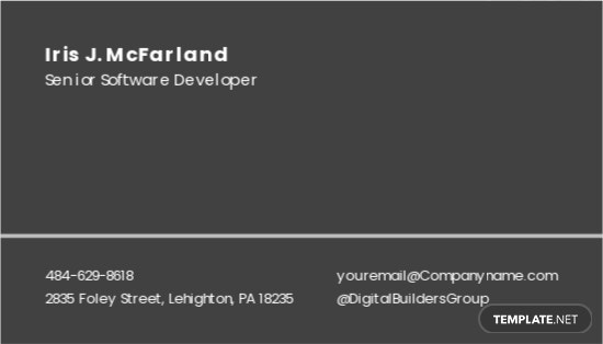 Software Development Business Card Template 1.jpe