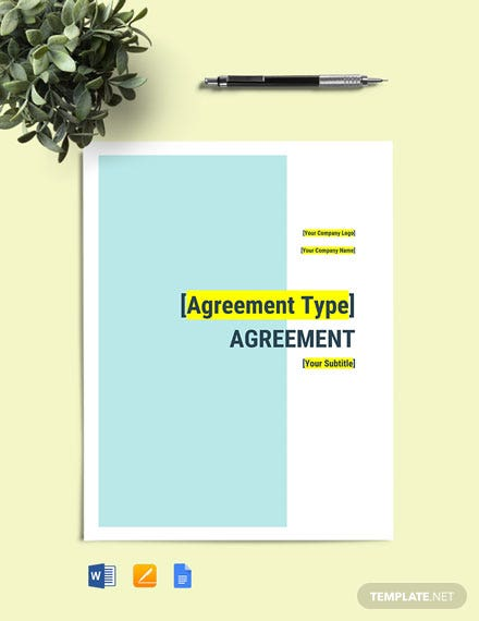 MSA (Master Service Agreement) Template