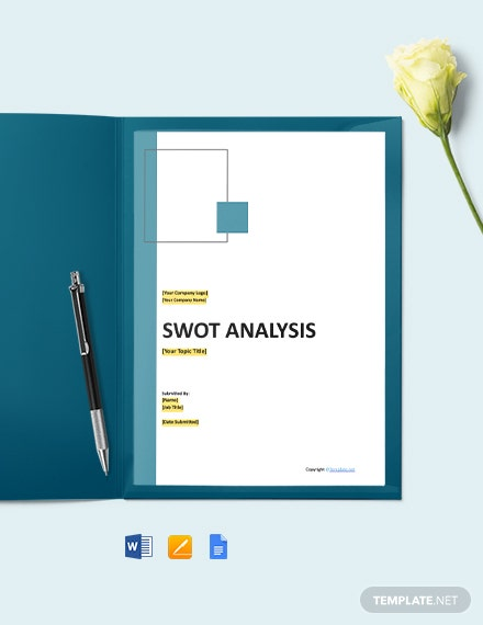 Free Sample IT SWOT Analysis Template
