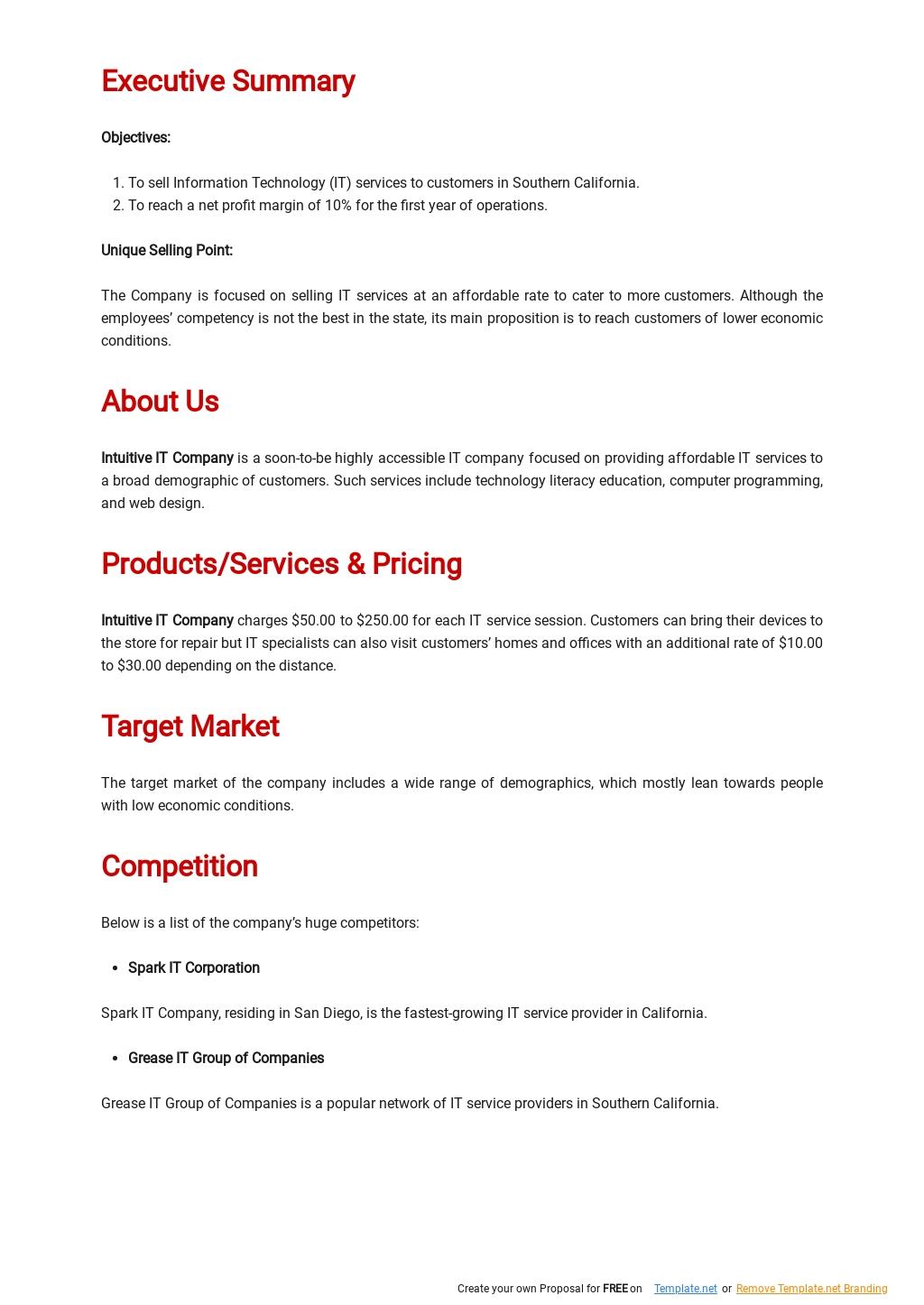 IT Startup Business Plan Template 1.jpe