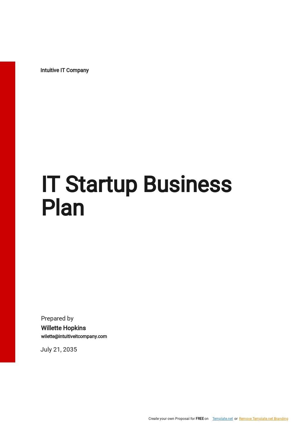 IT Startup Business Plan Template.jpe