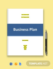 IT Startup Business Plan Template