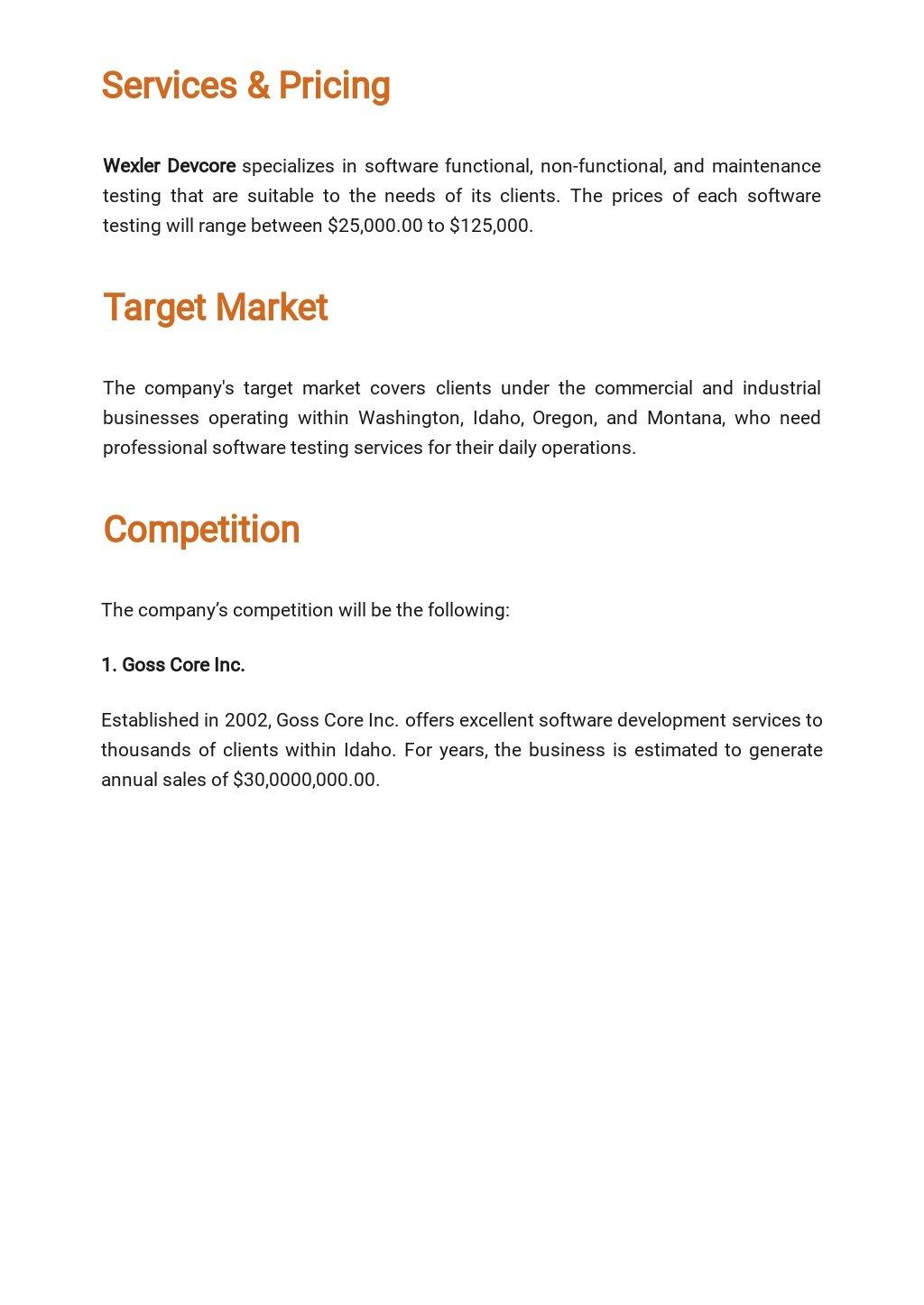 Software Testing Business Plan Template 2.jpe