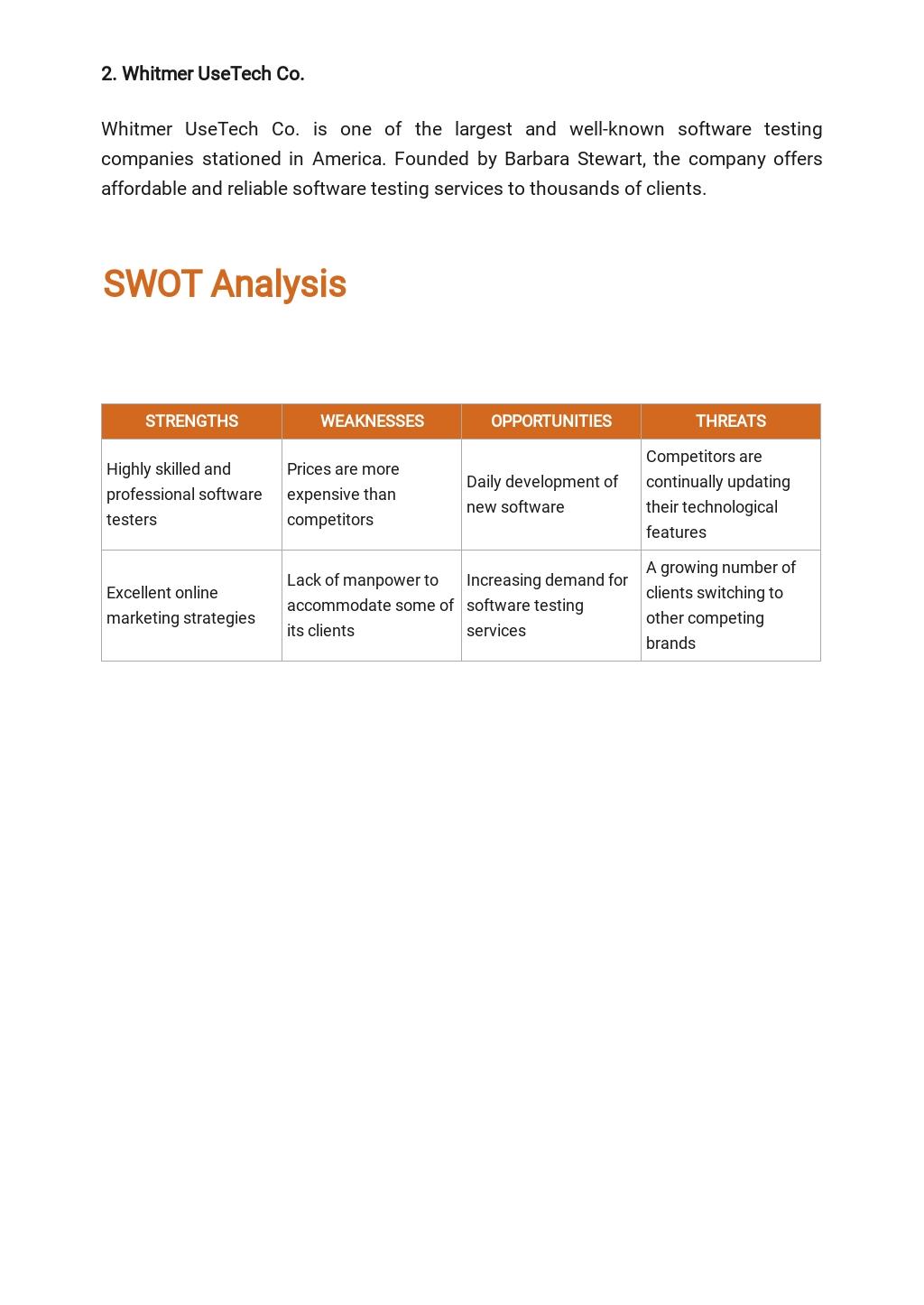 Software Testing Business Plan Template 3.jpe