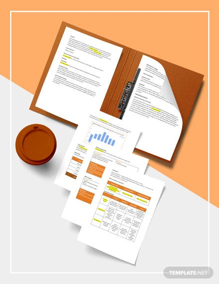 Software Testing Business Plan Template sample