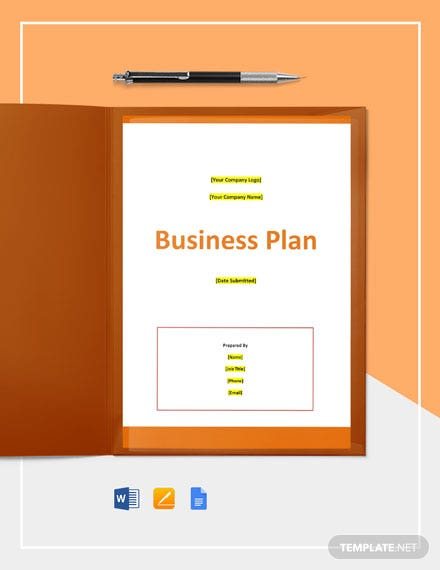 Software Testing Business Plan Template