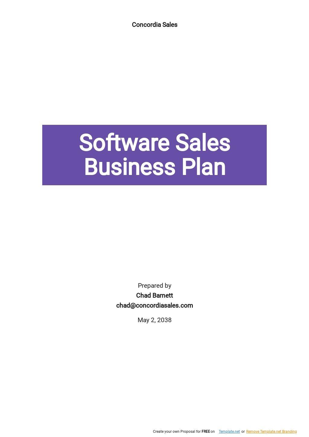 Software Sales Business Plan Template.jpe