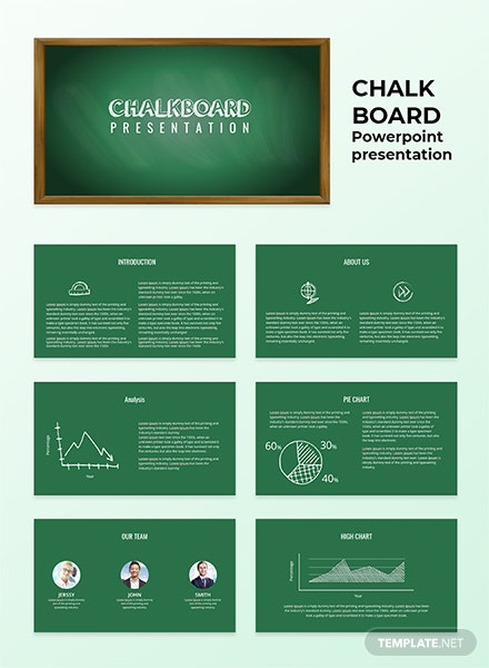 Chalkboard Presentation Template