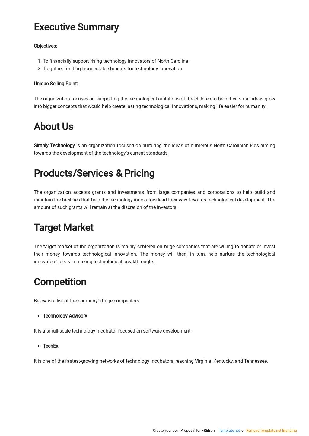 Technology Incubator Business Plan Template 1.jpe
