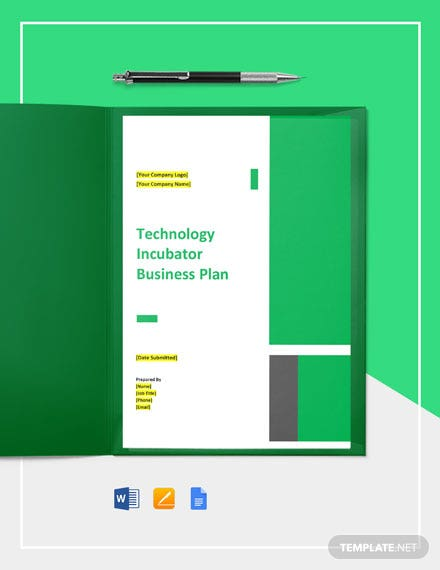 Technology Incubator Business Plan Template
