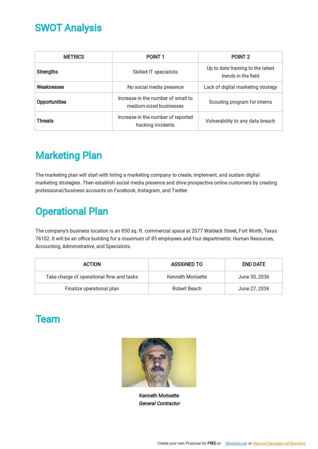 IT Contractor Business Plan Template 2.jpe