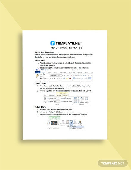 IT Contractor Business Plan Template Format