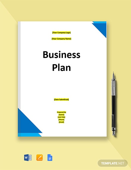 IT Contractor Business Plan Template