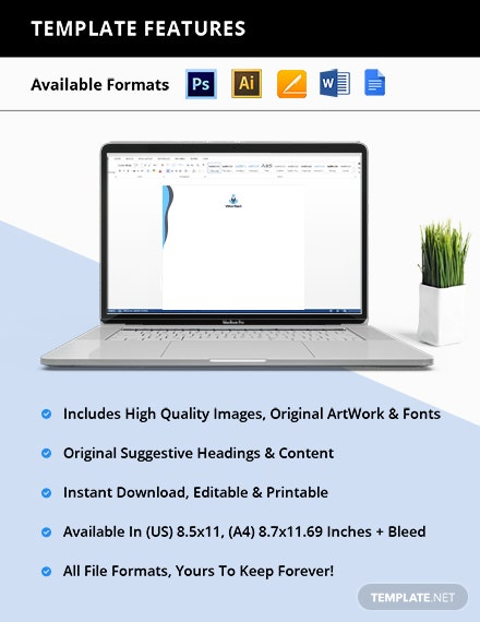 Free Creative IT Stationery Template format