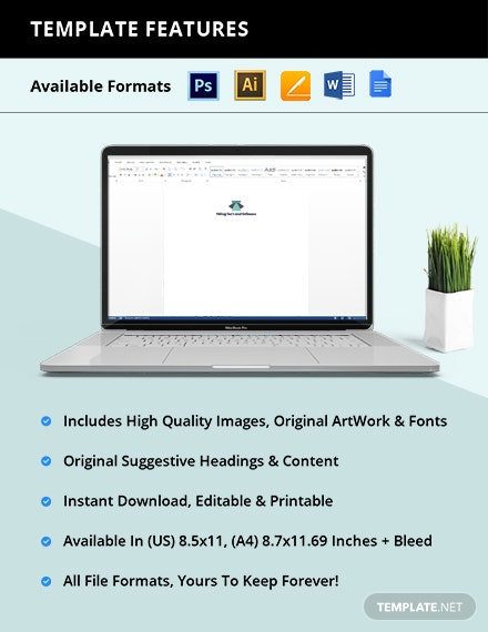 Free Simple Software Company Stationery Template format