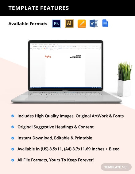 IT Company Stationery Template format