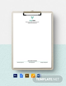 Software Company Stationery Template