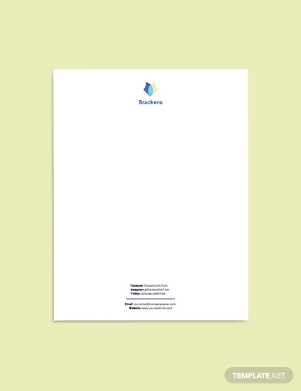 Tech Startup Stationery Template