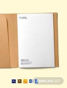 Software Startup Stationery Template