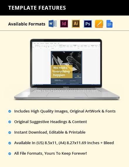 IT Promotion Flyer Editable