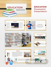 Free Education Presentation Template