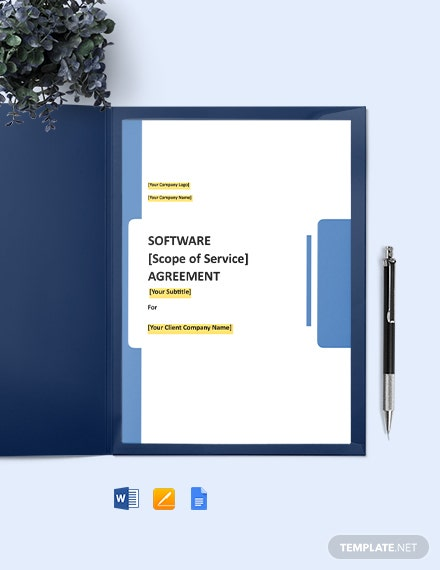 Mobile Application Development Agreement Template