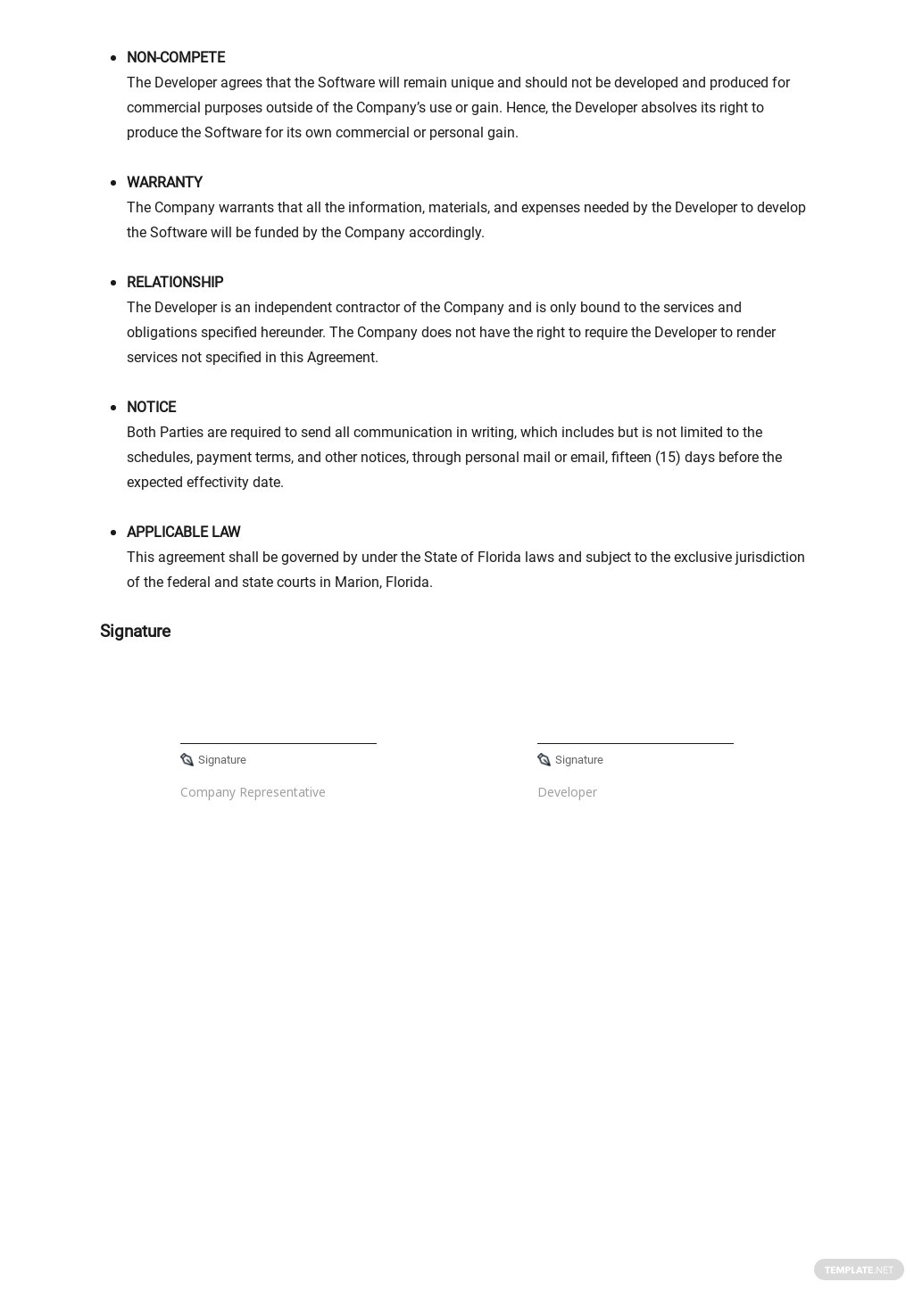 Software Non Compete Agreement Template 2.jpe