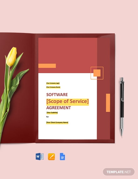 Software Non-Compete Agreement Template