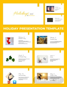 Holiday Presentation Template